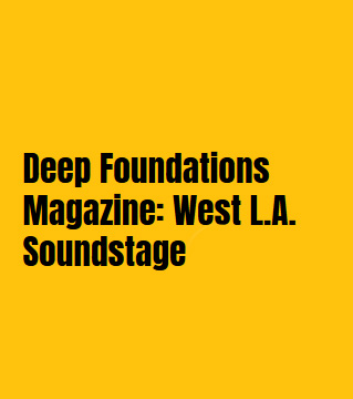 Deep Foundations Morris-Shea article